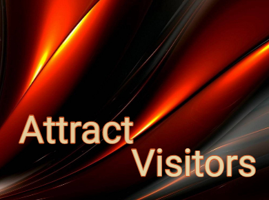 How to attract visitors
