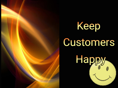 How to keep customers happy